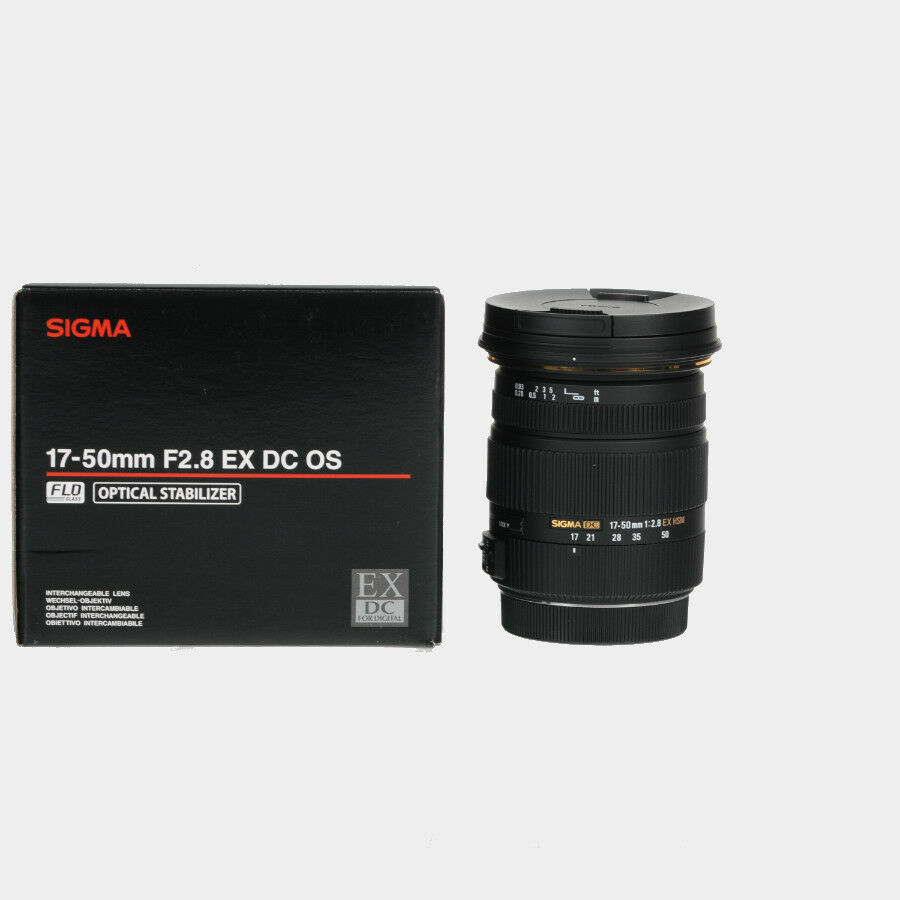 brand new sigma 17 50mm f 2 8 ex dc os hsm lens for canon. Black Bedroom Furniture Sets. Home Design Ideas