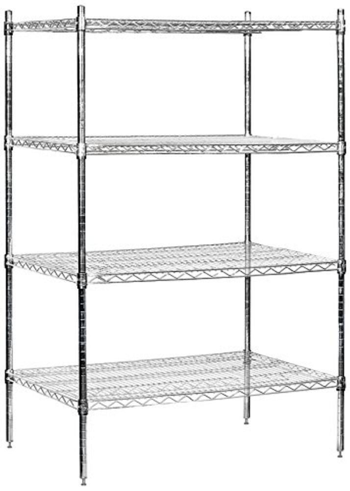 Wire Shelving Stationary 36 Quot Wide 63 Quot High 24