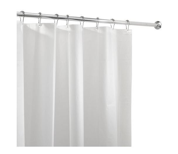 White Mold In Bathroom: Shower Curtain Liner Mold Mildew Resistant Bathroom Water