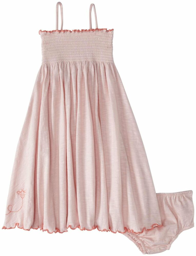 Burt's Bees Baby Girl Knit Dress & Bloomer Set ~ Petal ...