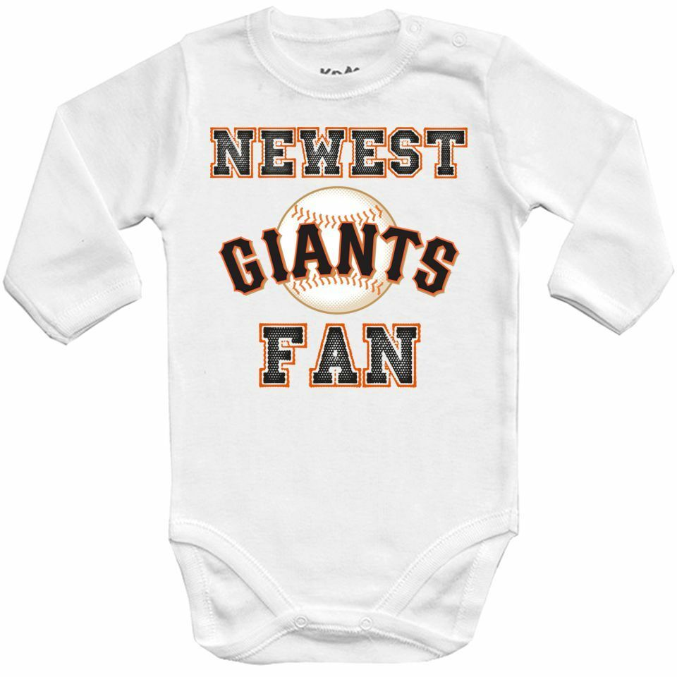 1dc0fa689e7 Details about Baby bodysuit Newest fan San Francisco Giants, MLB, kids One  Piece jersey Shower