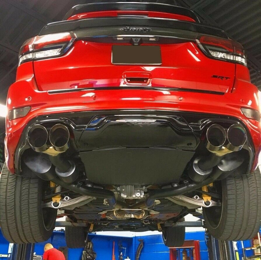 2011 Jeep Grand Cherokee Body Kit >> Diffuser for dual exhaust system/Rear bumper insert for ...