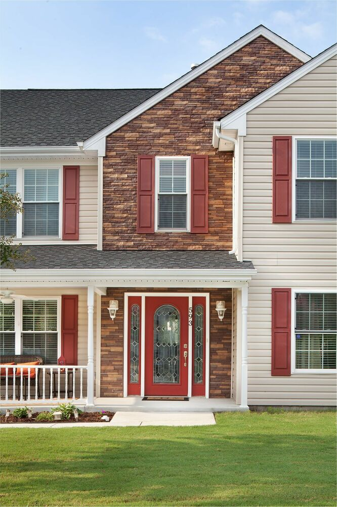 Vinyl Siding Stacked Stone Siding Like Real Stone