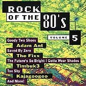 Rock of the '80s Vol 5 Various (CD 1994 Priority) First Press SEALED