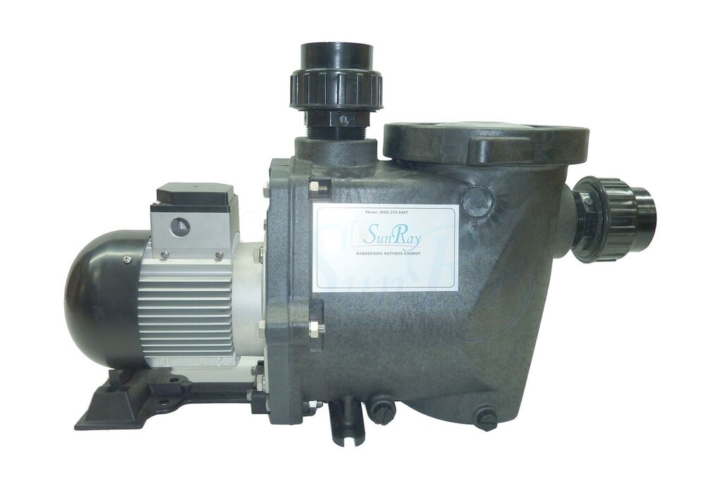Sunray Solflo2 Without Solar Panels Pool Filter Pump