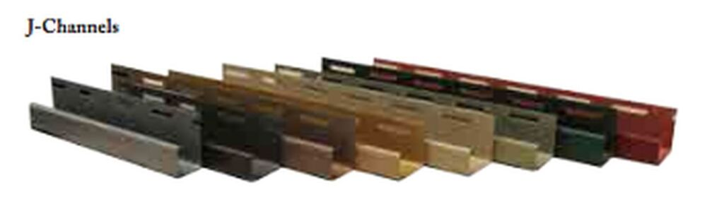 1 1 8 Quot J Channel Used With Exteria Siding Products Ebay