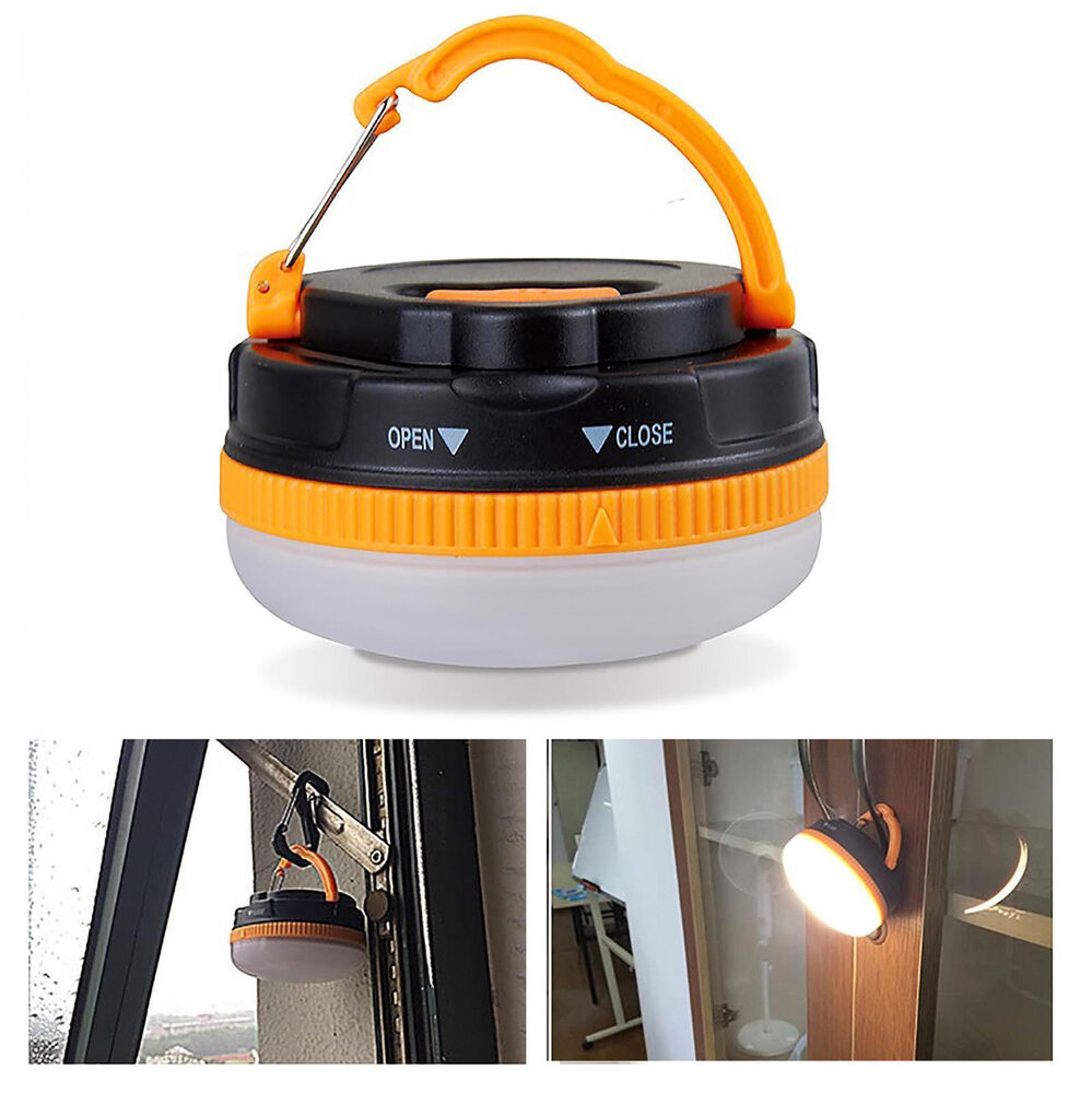 super bright waterproof cree 3w led portable camping lantern light lamp outdoor ebay. Black Bedroom Furniture Sets. Home Design Ideas
