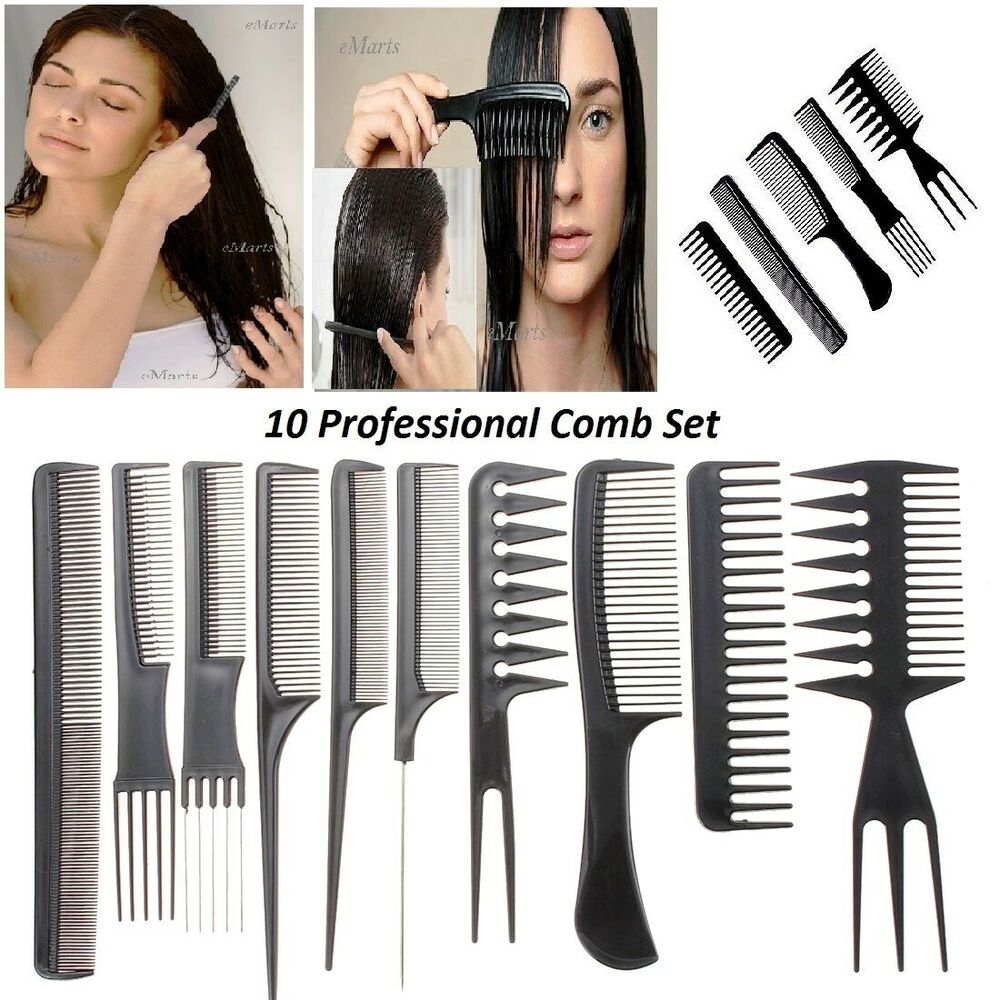 hair styling comb 5 salon comb hairdressing shower wide tooth detangler hair 3449