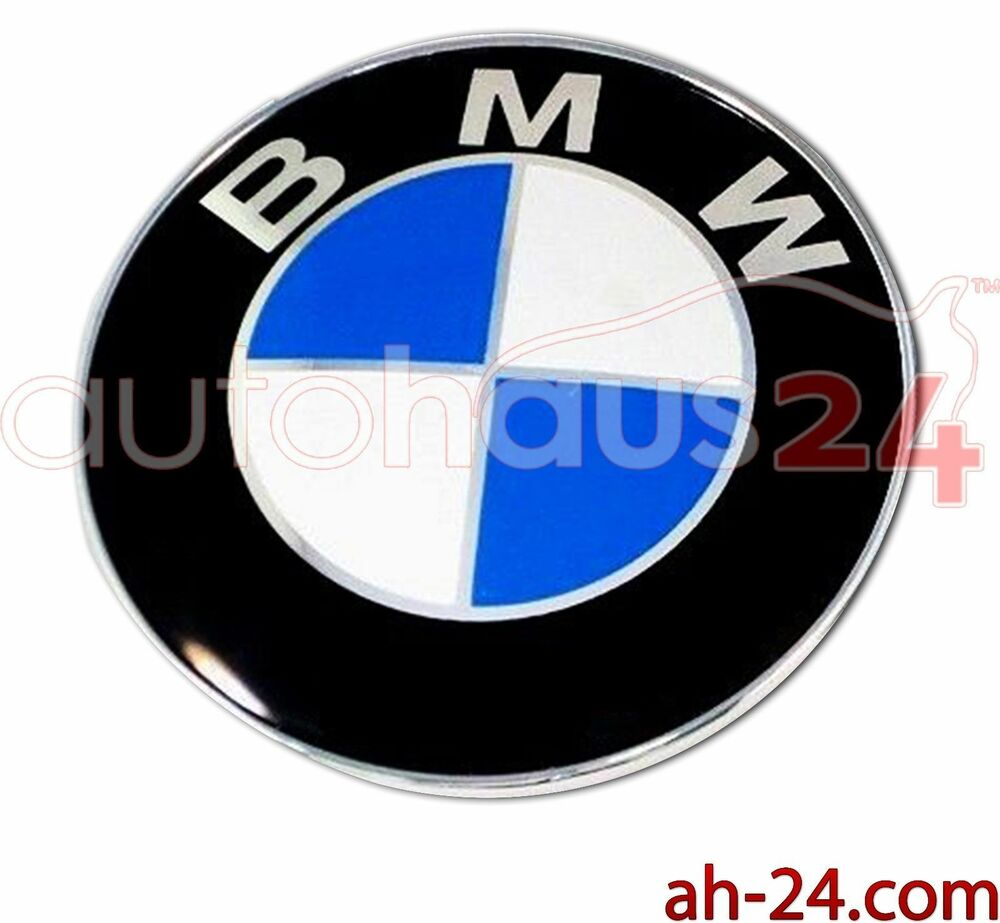Bmw 51141970248 Rear Emblem Trunk Badge Logo Roundel 78mm
