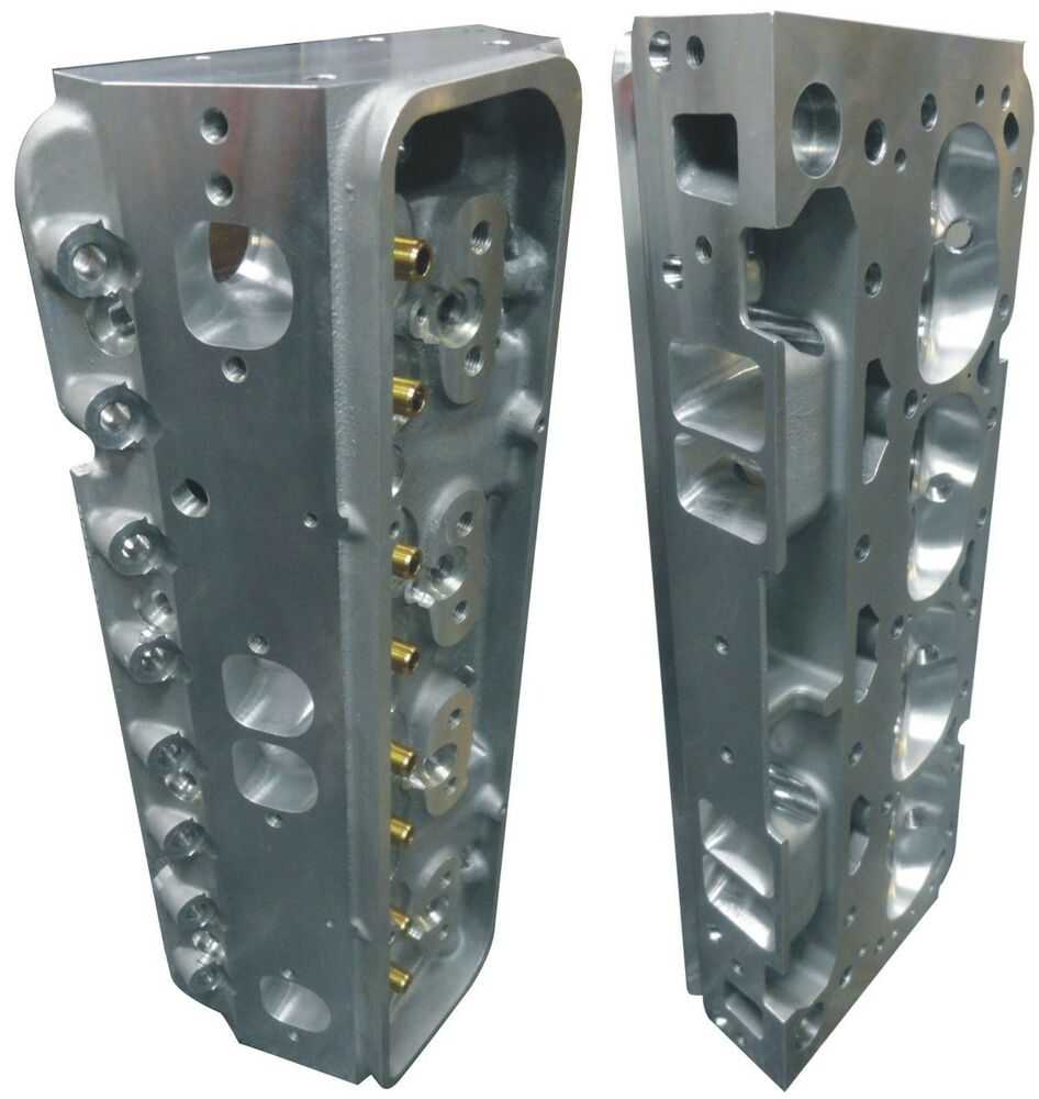 Precision Race CNC Ported Aluminum Cylinder Heads Small