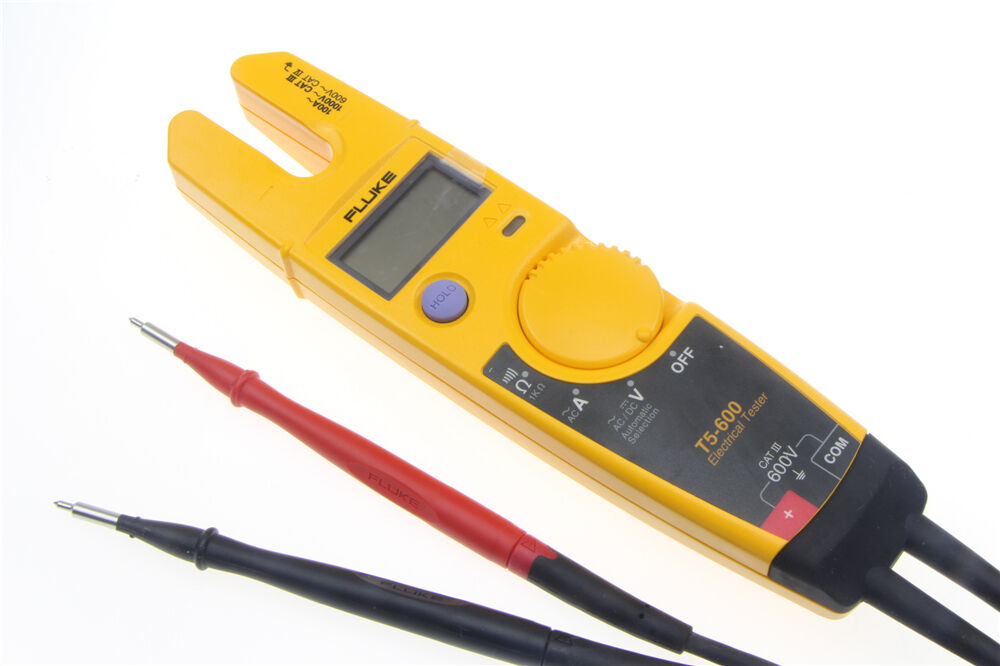 New Electrical Tester : New fluke t clamp continuity current electrical