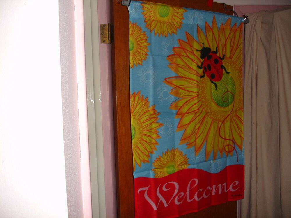 Large House Yard Decorative Flag 28x40 Ladybug Welcome. Cheap Hotel Rooms Daytona Beach Florida. Motel With Jacuzzi In Room Near Me. Closet Room Ideas. Plum Decorative Pillows. Room For Rent In Milpitas. Mid Century Dining Room. Dining Room Booth Style Seating. Cottage Home Decor