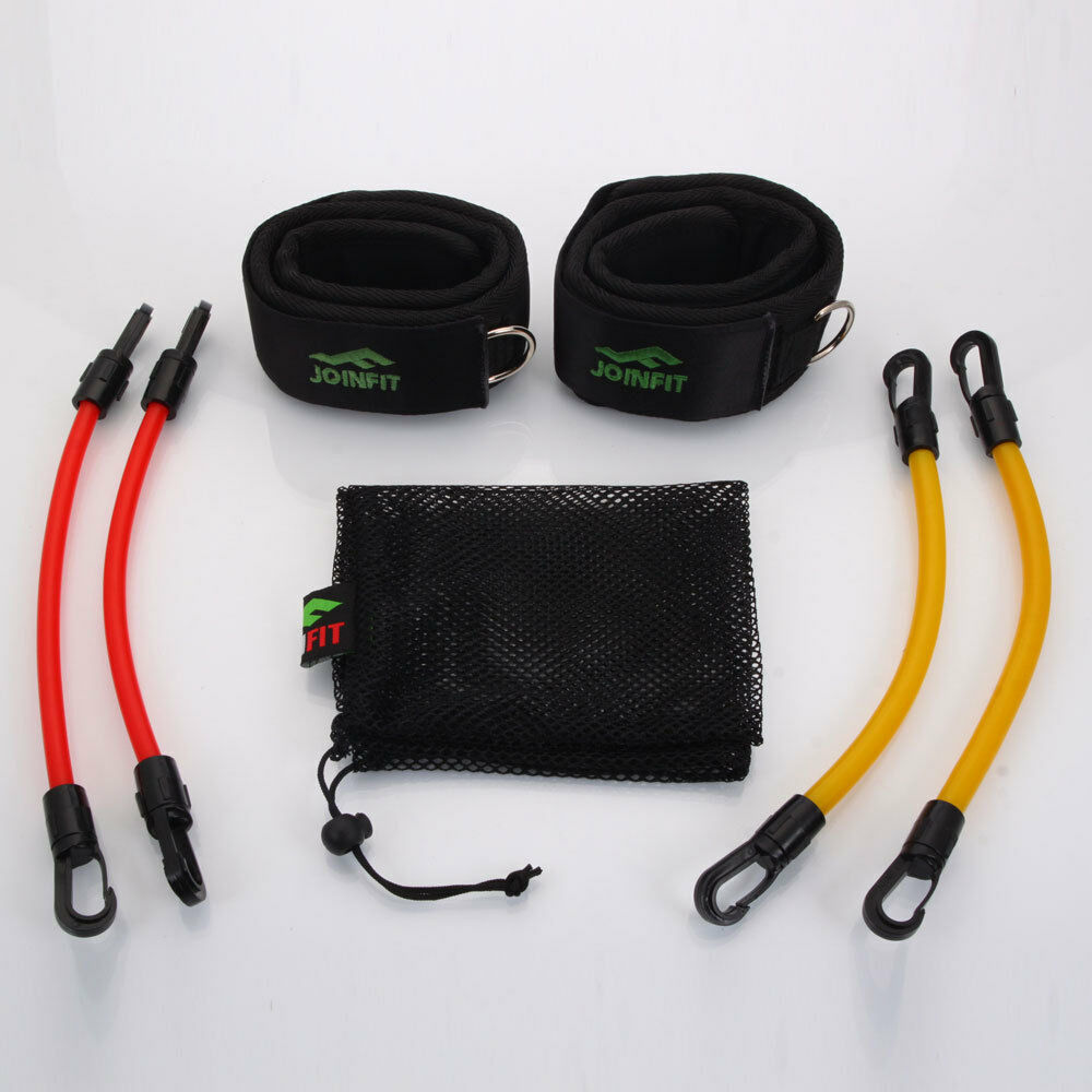Resistance Bands Thigh Workout: New Ankle Fitness Exercise 4 Resistance Leg Band