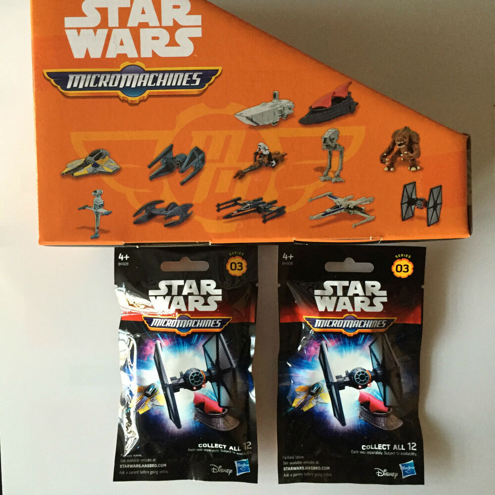 Star Wars Micro Machines Series 3 The Force Awakens Blind