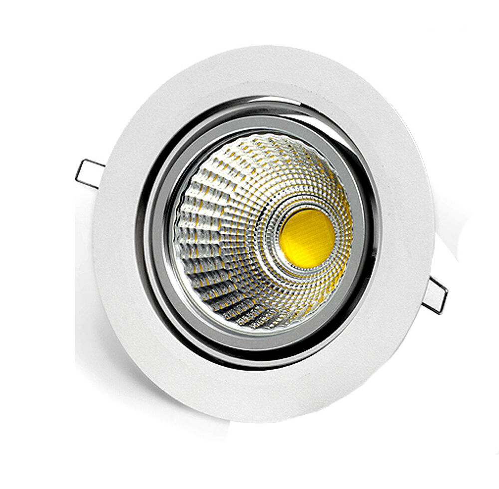 High power 5w 7w 9w 12w tillt cob led recessed ceiling for Led lights for high ceilings