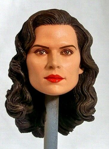 Agent Carter Toys : Custom head hayley atwell as peggy carter in captain