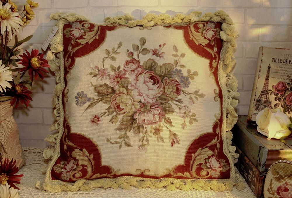 16 Quot French Country Vintage Soft Shabby Handmade