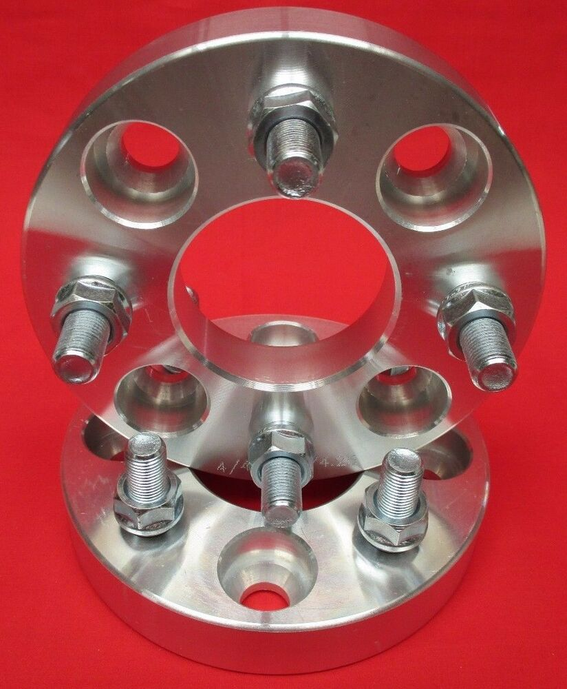 Details about 1 25 4x4 5 ford mustang falcon ranchero comet wheels spacers 4 lug 1960 to 1973