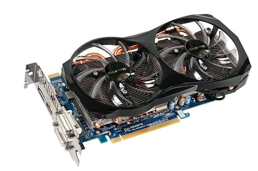gigabyte geforce gtx 660 oc 2 gb gddr5 gv n660oc 2gd pci e 31140 ebay. Black Bedroom Furniture Sets. Home Design Ideas