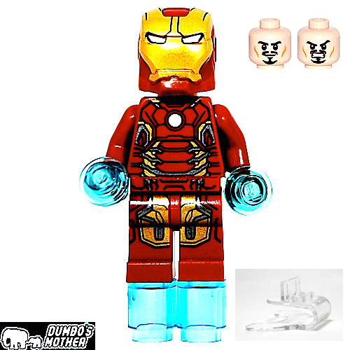 LEGO Ironman MK43 w/jumper 76032 Marvel Superheroes ...