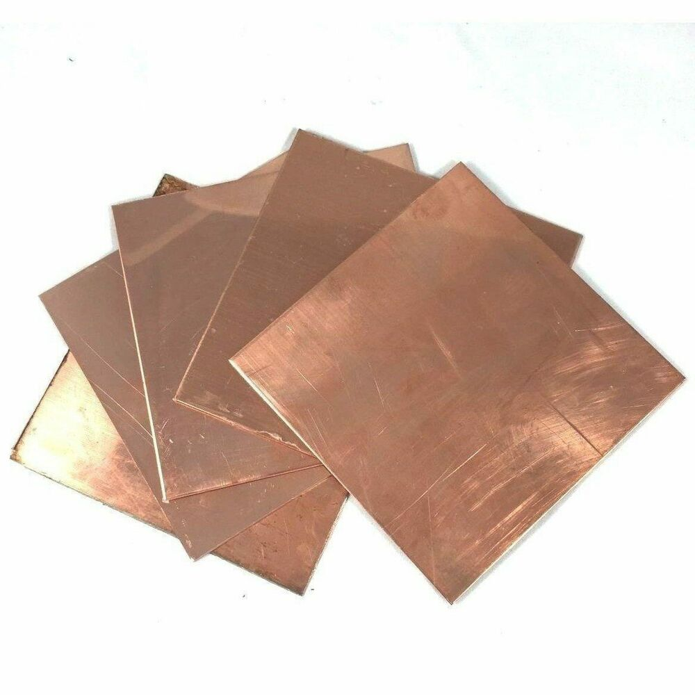 Copper Sheet Metal 02 04 Thickness Craft Jewelry