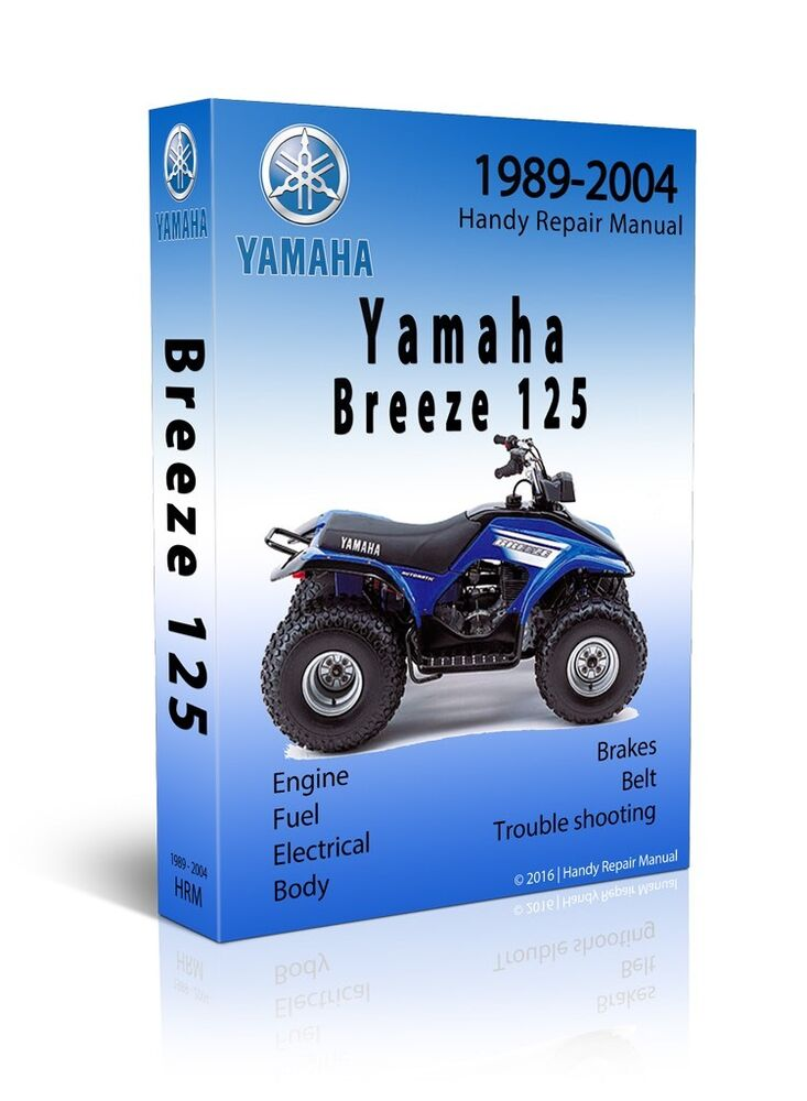 yamaha breeze grizzly 125 service repair manual cd. Black Bedroom Furniture Sets. Home Design Ideas