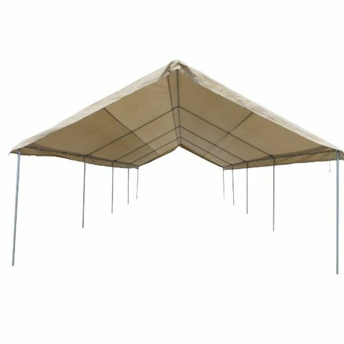 Replacement Tarp For Carport : Heavy duty mil valance replacement canopy tarp