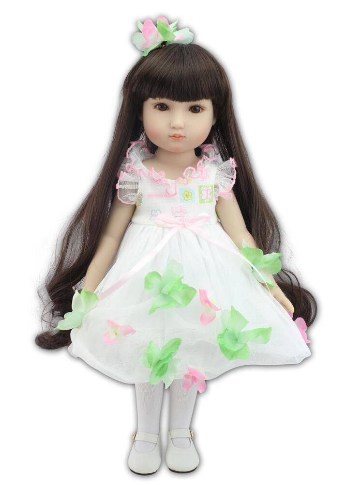 Girl Toys Doll : Quot semi soft vinyl fashion cute asian doll education toy