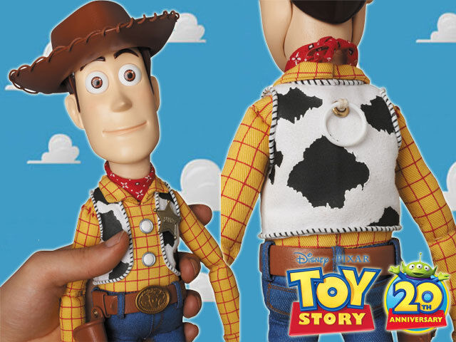 Toy story ultimate woody prop replica action figure doll medicom disney japan ebay - Cochon de toy story ...