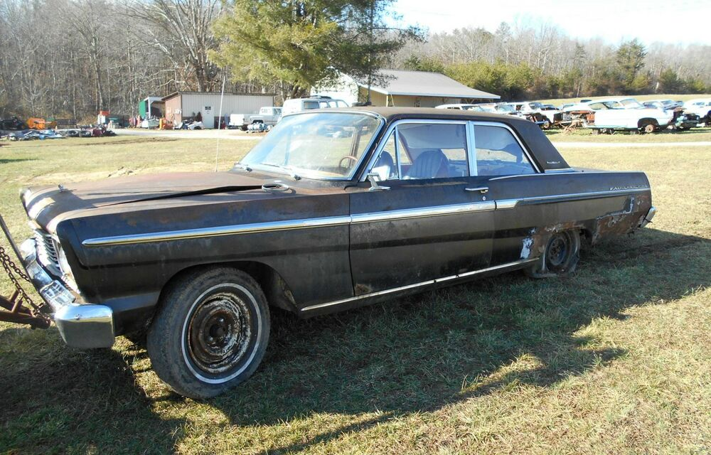 1965 Ford Fairlane 500 2 Door Coupe Project Parts Car Ebay