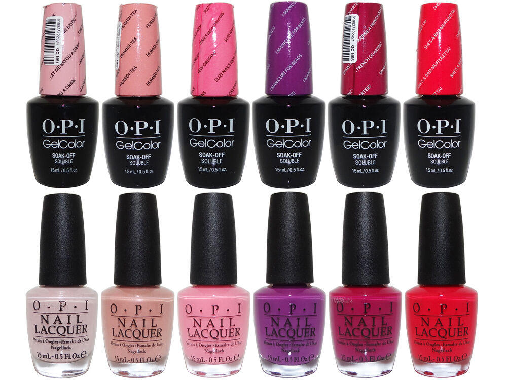 Opi New Orleans Collection Spring 2016 Soak Off Gel Polish Nail Lacquer Set 1 Ebay