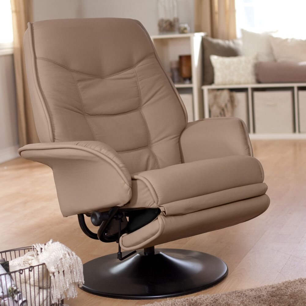 Coaster 7502 Berri Swivel Recliner Chair With Flared Arms