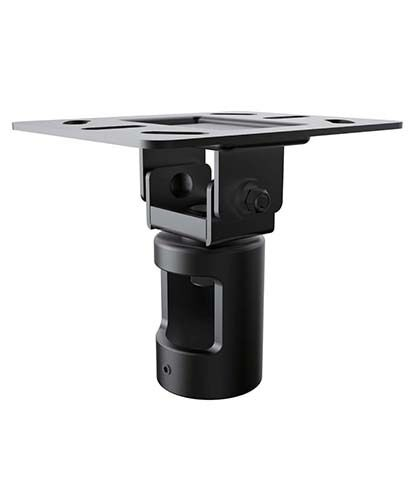 led tv monitor mount mounting bracket cathedral ceiling plate for 1 5 npt pipe ebay. Black Bedroom Furniture Sets. Home Design Ideas