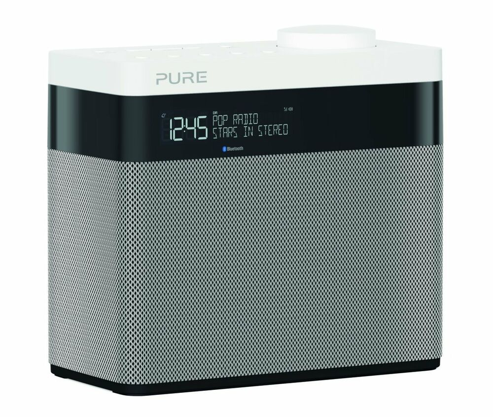pure pop maxi bluetooth dab fm digital radio alarm clock ebay. Black Bedroom Furniture Sets. Home Design Ideas