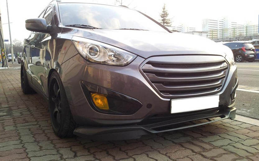 dress up tuning radiator grille for hyundai tucson ix 2011. Black Bedroom Furniture Sets. Home Design Ideas