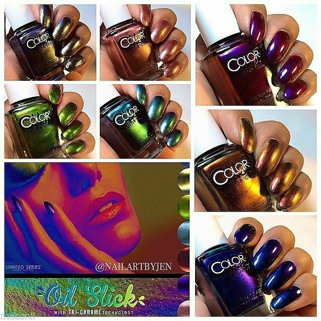 Who Sells Color Club Nail Polish: Oil Slick Collection
