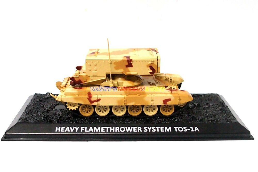 New 1/72 Diecast Tank Russia Heavy Flamethrower System TOS ...