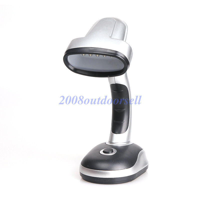12 Led Portable Bright Lamp Battery Operated Desk Reading