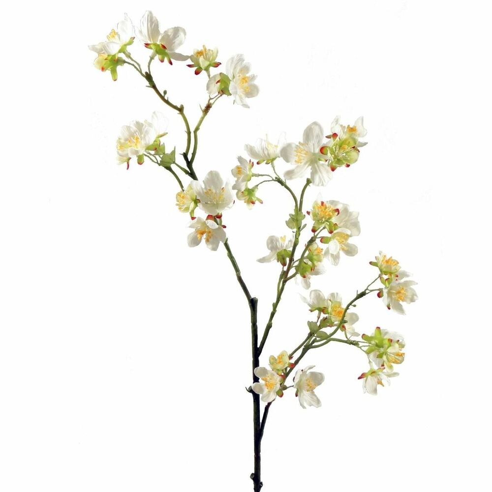 Wild cherry blossom spray 76 cm different colours for Artificial flower decoration mandap