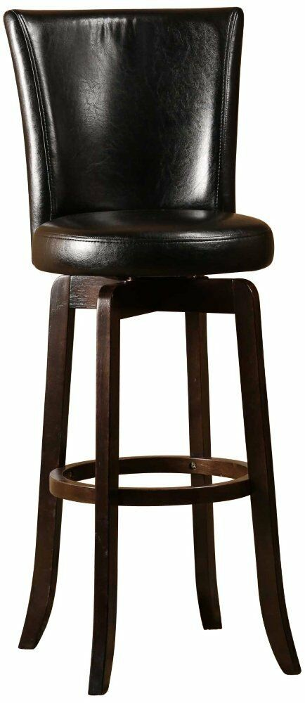 Hillsdale 4951 826 Copenhagen Swivel Counter Stool Black
