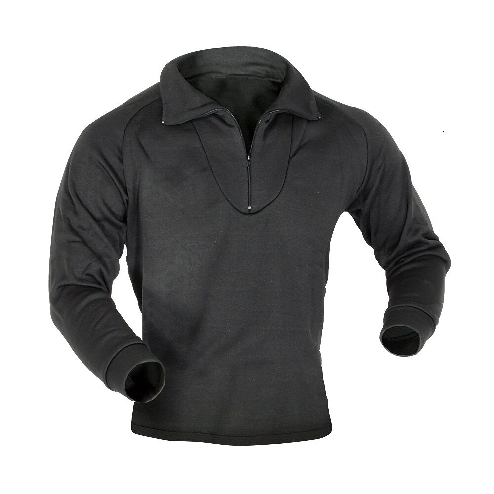 Black Military Style Cold Weather Polypropylene Thermal ...