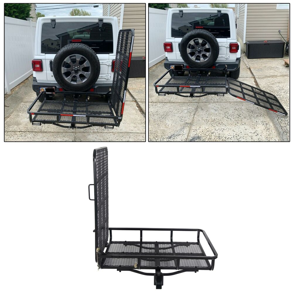 60 Quot Folding Truck Car Cargo Carrier Basket Luggage Rack