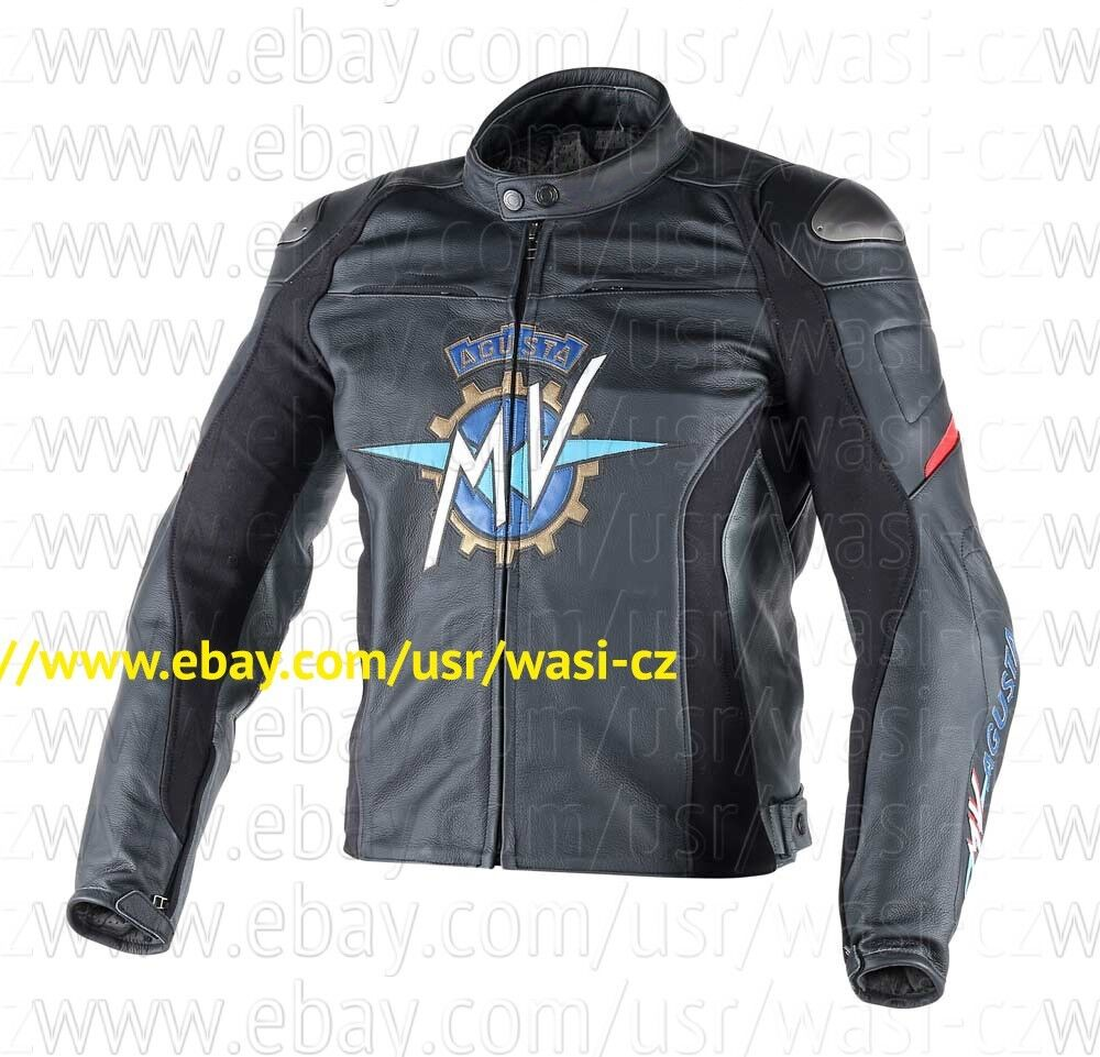 2016 Mv Agusta Leather Motorcycle Jacket Ebay