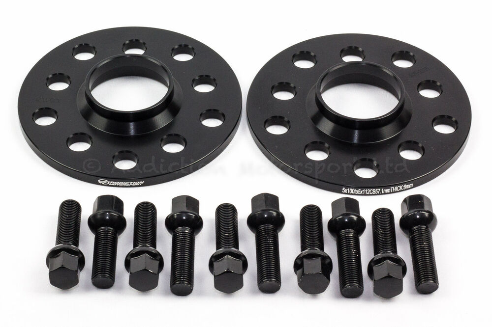 8mm hubcentric spacers for audi tt s3 a3 with radius. Black Bedroom Furniture Sets. Home Design Ideas