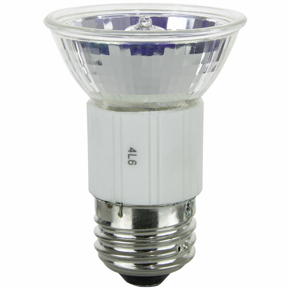 Sunlite 80190 Su Led Mr16 Reflector Medium Base Bulb: Sunlite Halogen 100 Watt JDR MR16 Mini Reflector Medium