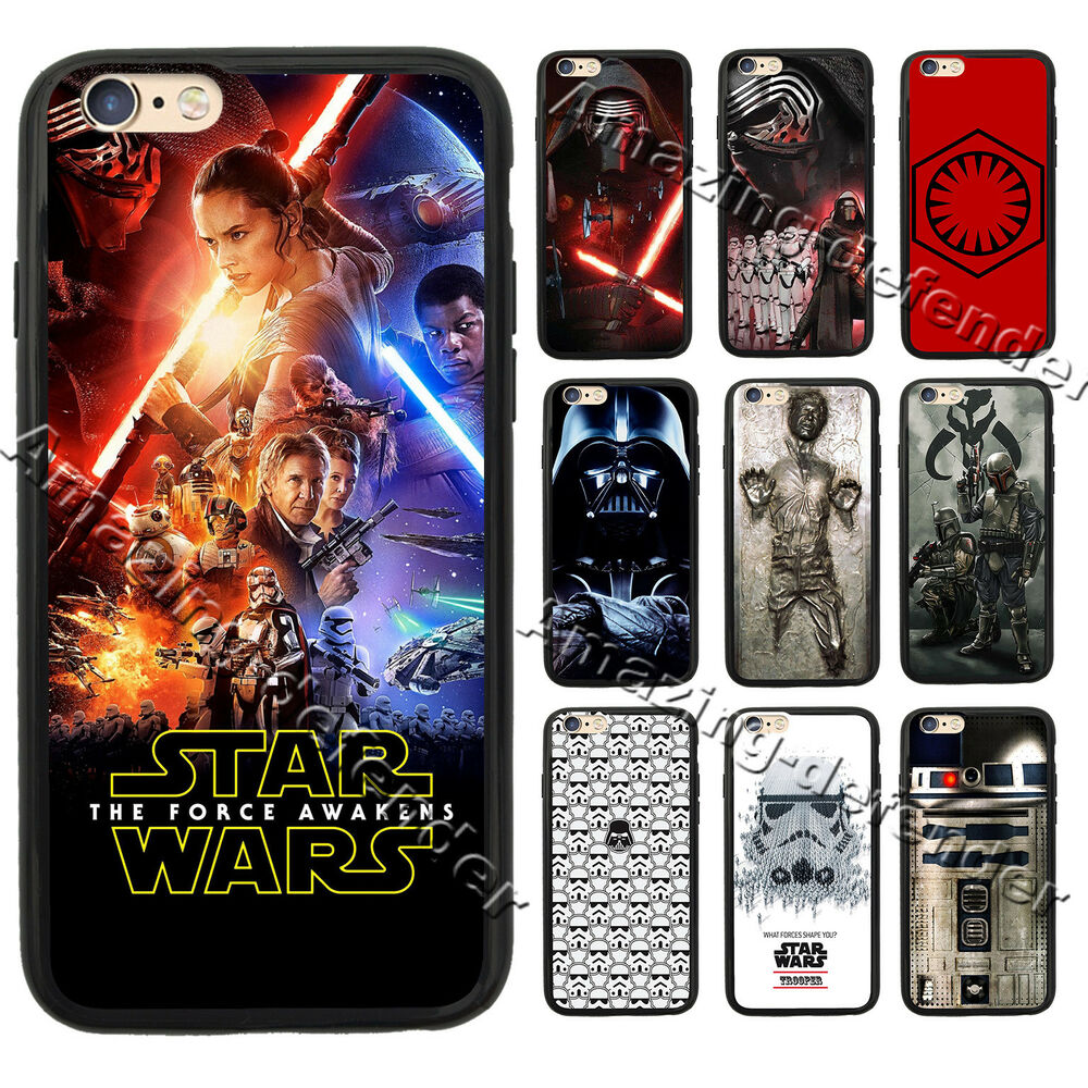 star wars iphone case darth vader boba fett wars for iphone 5 6s 7 plus amp s7 16194
