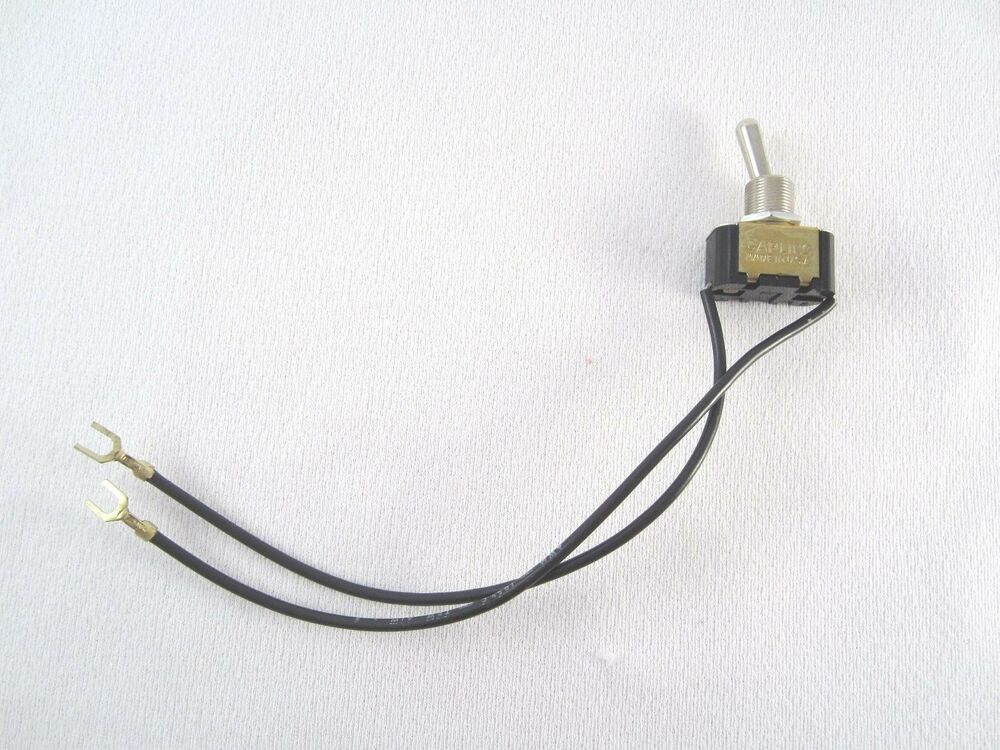 Carling 2 Position 2 Wire Panel Mount Toggle Switch 6a