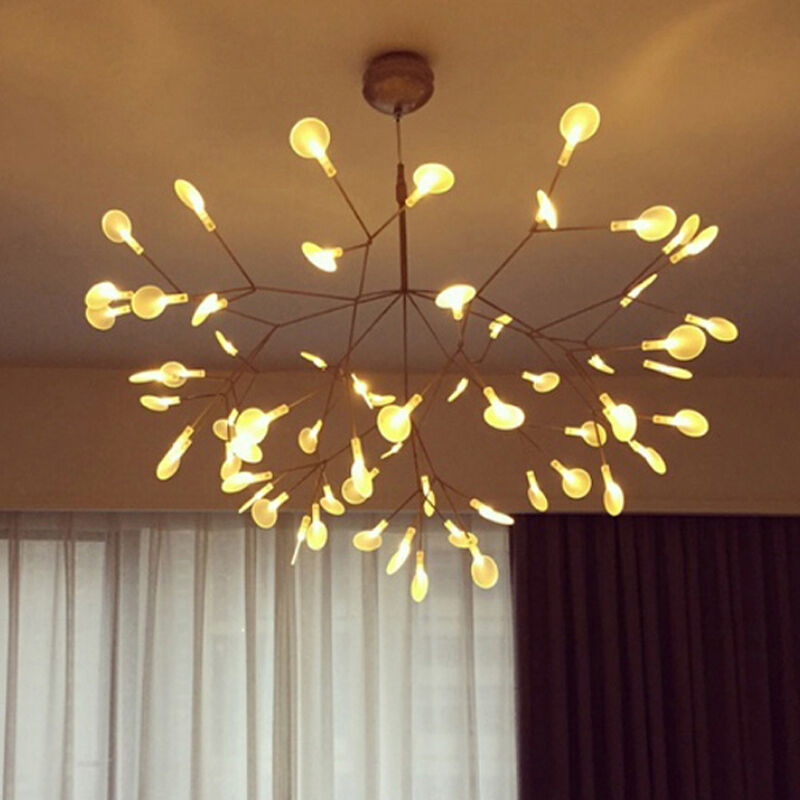 Heracleum ii small pendant light tree leaf creative led for Small hanging light fixtures