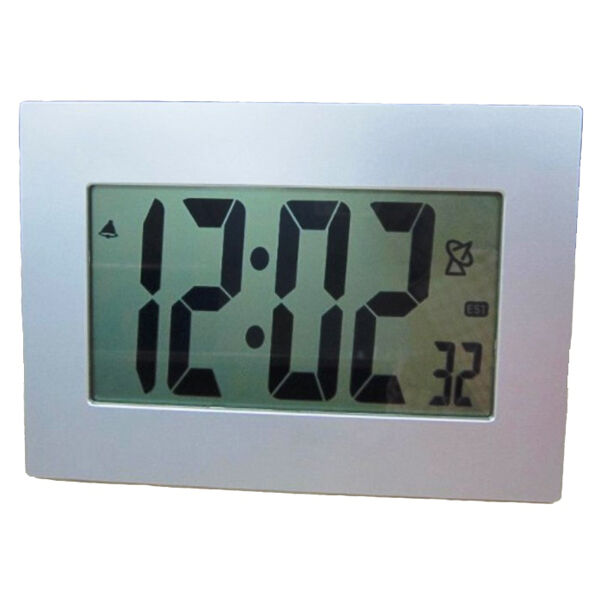 Extra large lcd display atomic table wall alarm clock large numbers digital ebay - Extra large digital wall clock ...