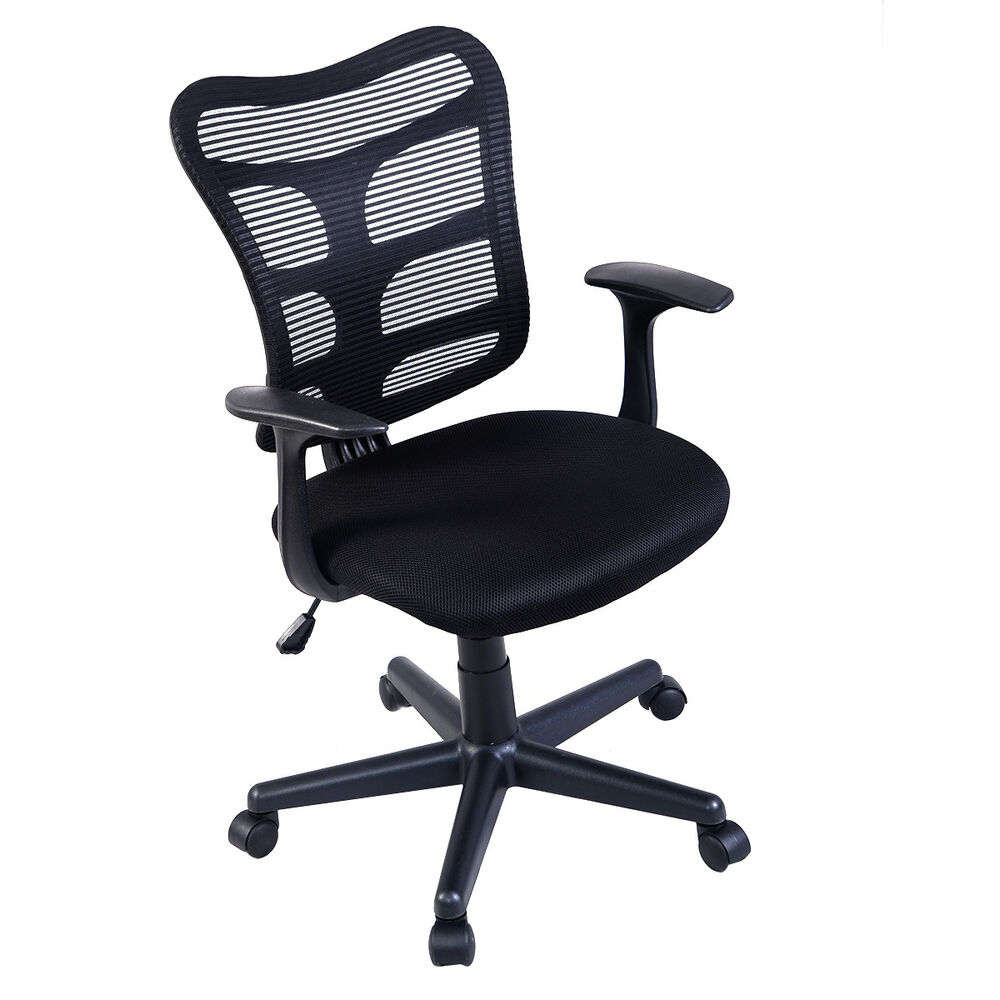 Modern ergonomic mid back executive computer desk task for Contemporary office chairs modern